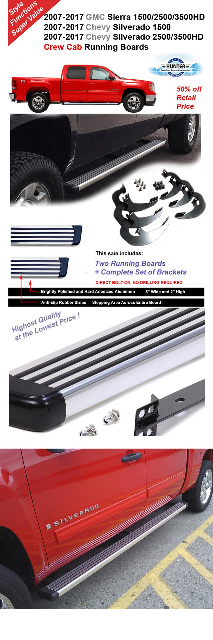 2007 2017 silverado sierra 1500 2500 3500hd crew cab. Black Bedroom Furniture Sets. Home Design Ideas
